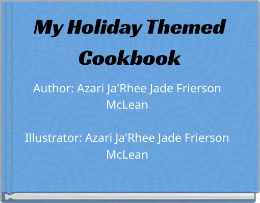 My Holiday ThemedCookbook