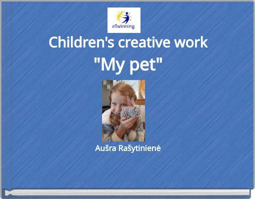 Children's creative work