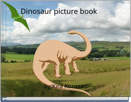 Dinosaur picture book