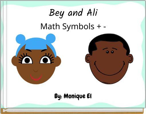 Bey and AliMath Symbols + -