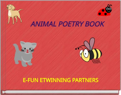 ANIMAL POETRY BOOK