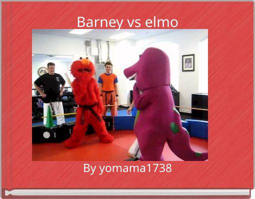 Barney vs elmo