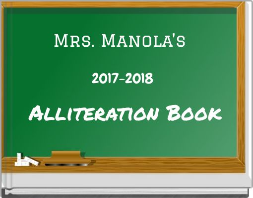 Alliteration Book