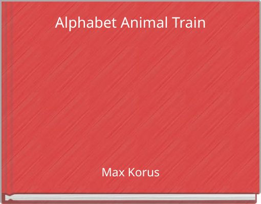 Alphabet Animal Train