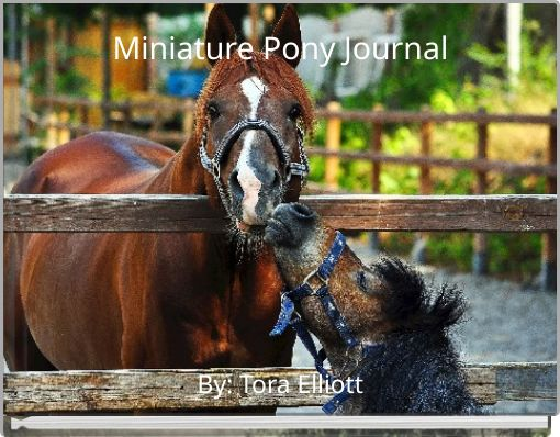 Miniature Pony Journal