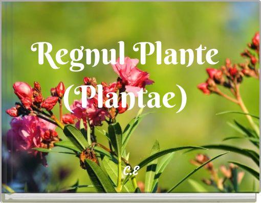 Regnul Plante(Plantae)