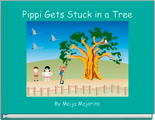 Pippi Gets Stuck in a Tree