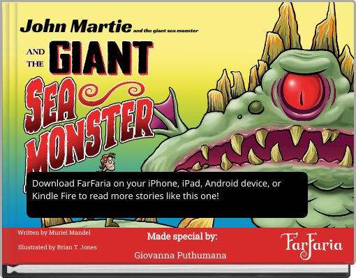 John Martie and the giant sea monster