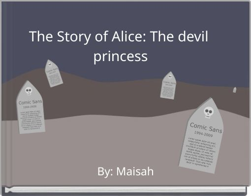 The Story of Alice: The devil princess