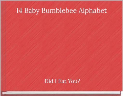 14 Baby Bumblebee Alphabet