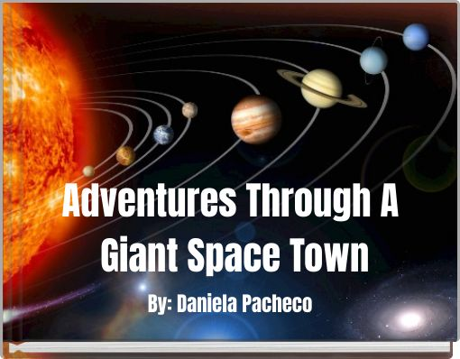 Adventures Through A Giant Space Town
