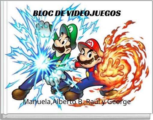 BLOC DE VIDEOJUEGOS