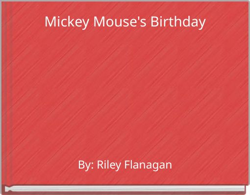 Mickey Mouse's Birthday