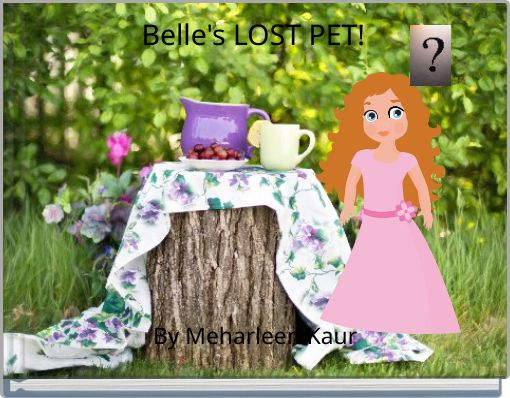 Belle's LOST PET!