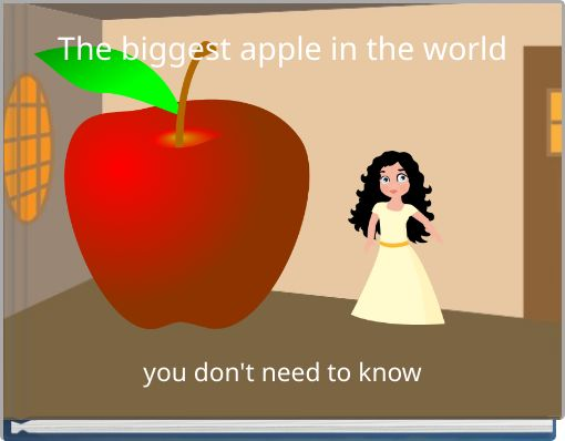 The biggest apple in the world