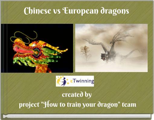 Chinese vs European dragons