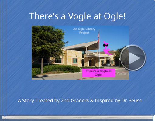Book titled 'There's a Vogle at Ogle!'