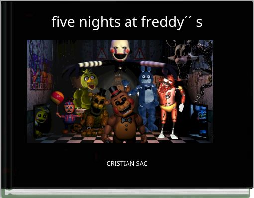 five nights at freddy´´  s