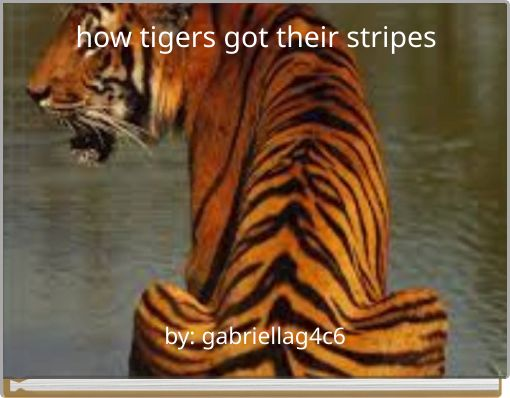 how tigers got their stripes
