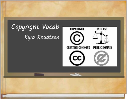 Copyright Vocab