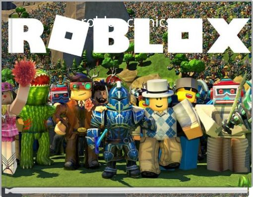 roblox comics