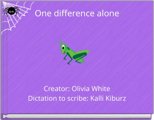 One difference alone