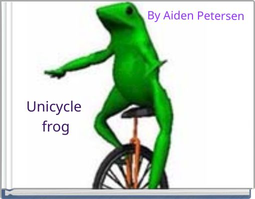 Unicycle frog