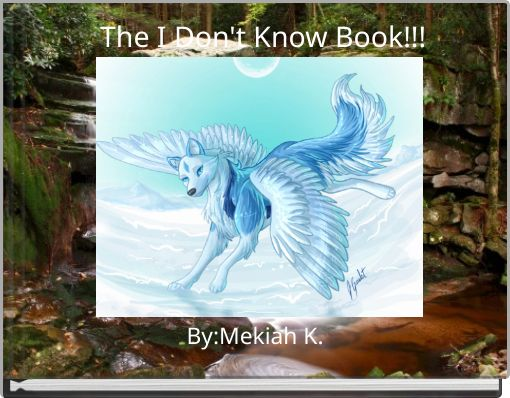 The I Don't Know Book!!!