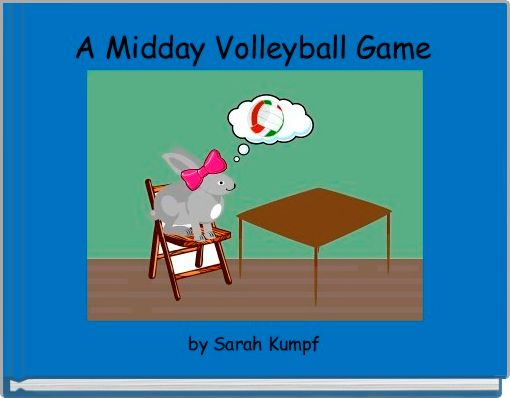 A Midday Volleyball Game