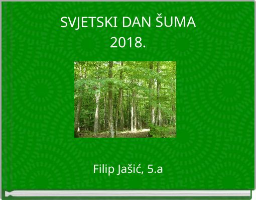 SVJETSKI DAN ŠUMA2018.