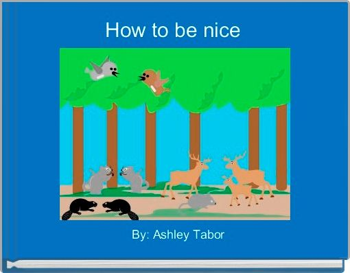 How to be nice