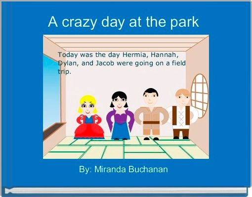 A crazy day at the park