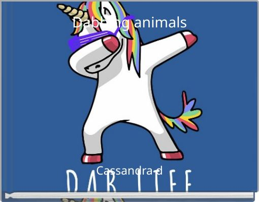 Dabbing animals