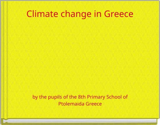 Climate change in Greece