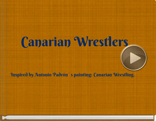 Book titled 'Canarian Wrestlers'