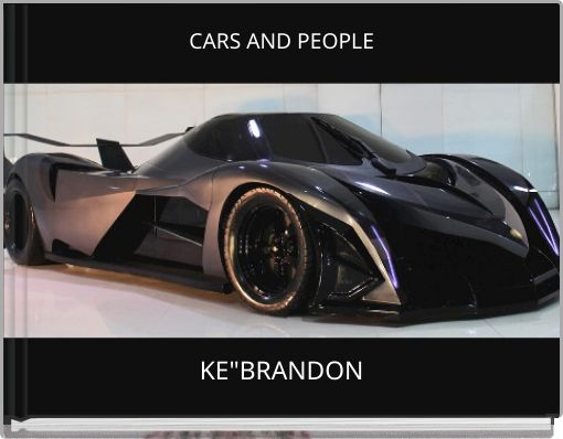CARS AND PEOPLE