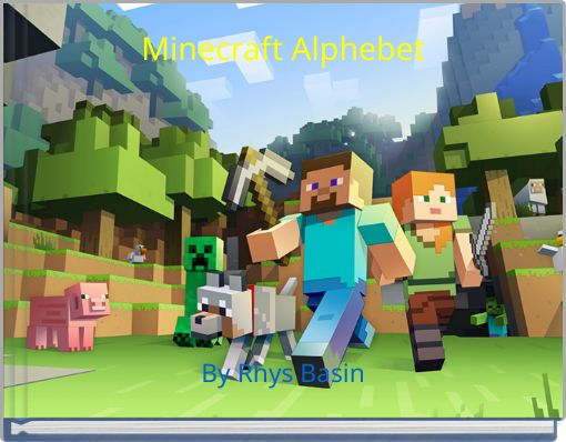 Minecraft Alphebet