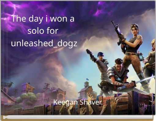 The day i won a solo  for unleashed_dogz