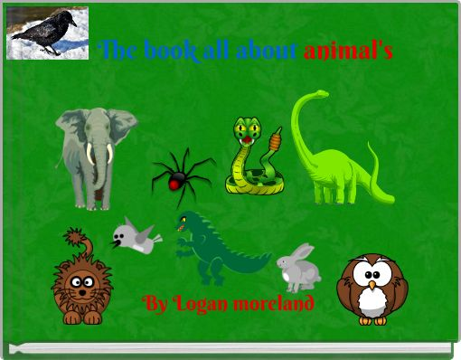 The book all about animal's