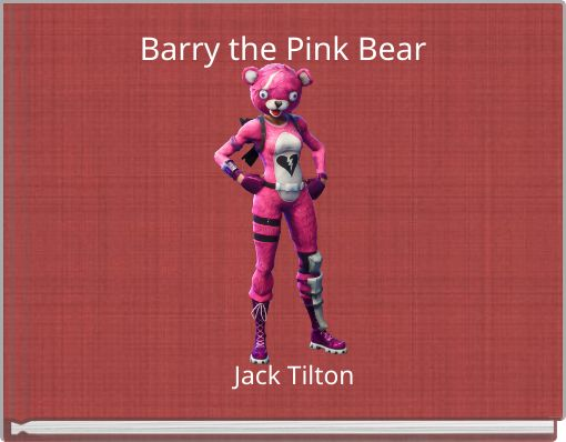 Barry the Pink Bear