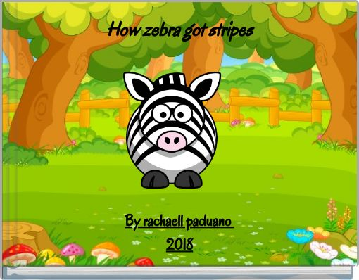 How  zebra got stripes