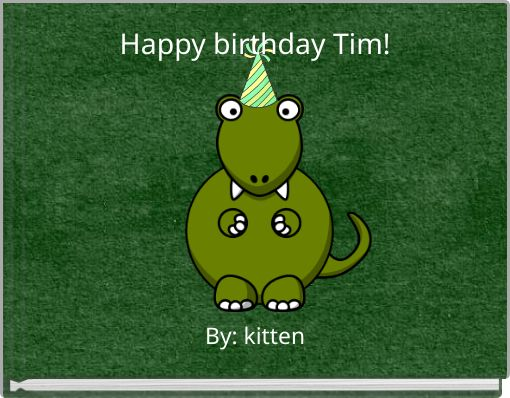 Happy birthday Tim!