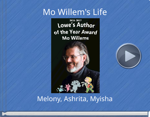 Book titled 'Mo Willem's Life'