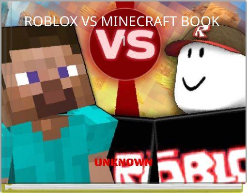 ROBLOX VS MINECRAFT BOOK 1