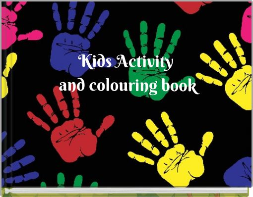 Kids Activity and colouring book