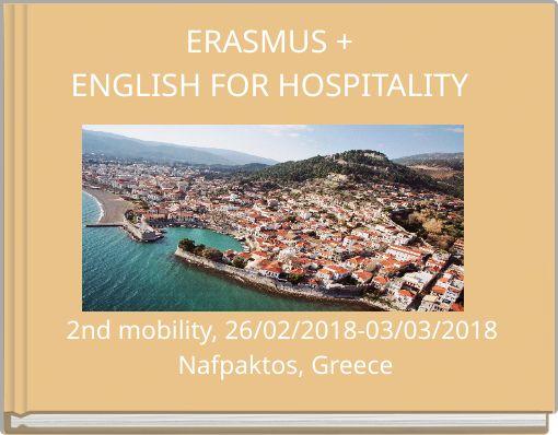 ERASMUS +ENGLISH FOR HOSPITALITY
