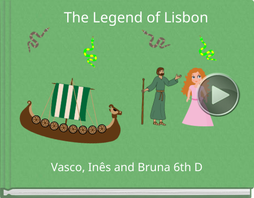 Book titled 'The Legend of Lisbon'