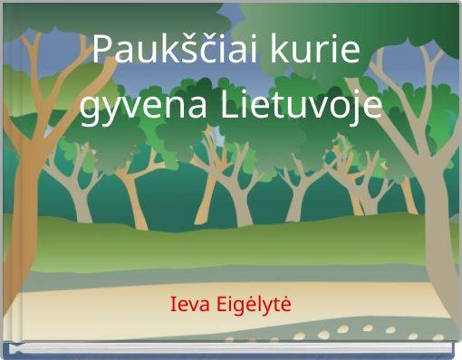 Paukščiai kurie gyvena Lietuvoje