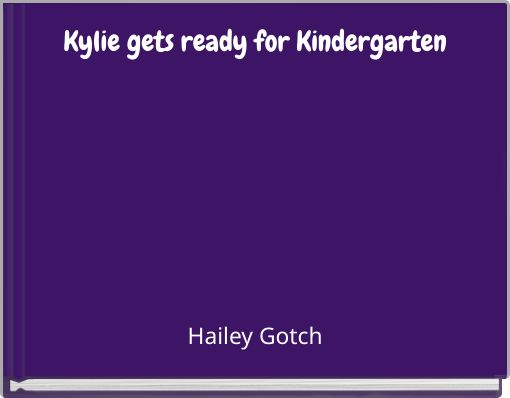 Kylie gets ready for Kindergarten