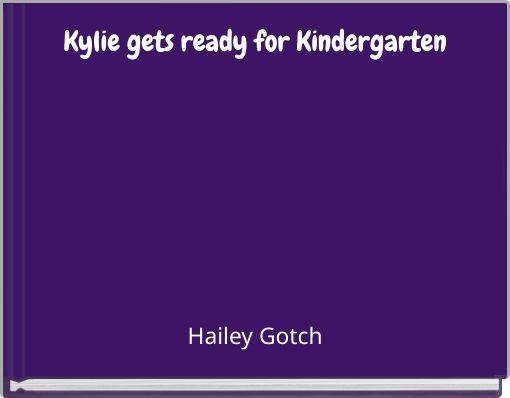 Kylie gets ready for Kindergarten